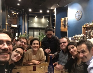 soirée bar à vin